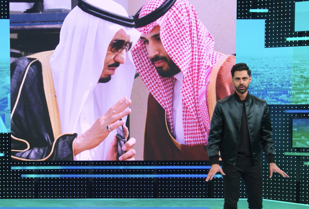 Hasan Minhaj Responds to Saudi Arabia Episode Ban in Patriot Act Premiere