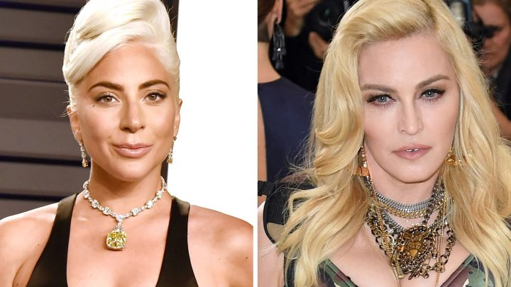 Lady Gaga Almost Kissed Madonna at the Oscars Too