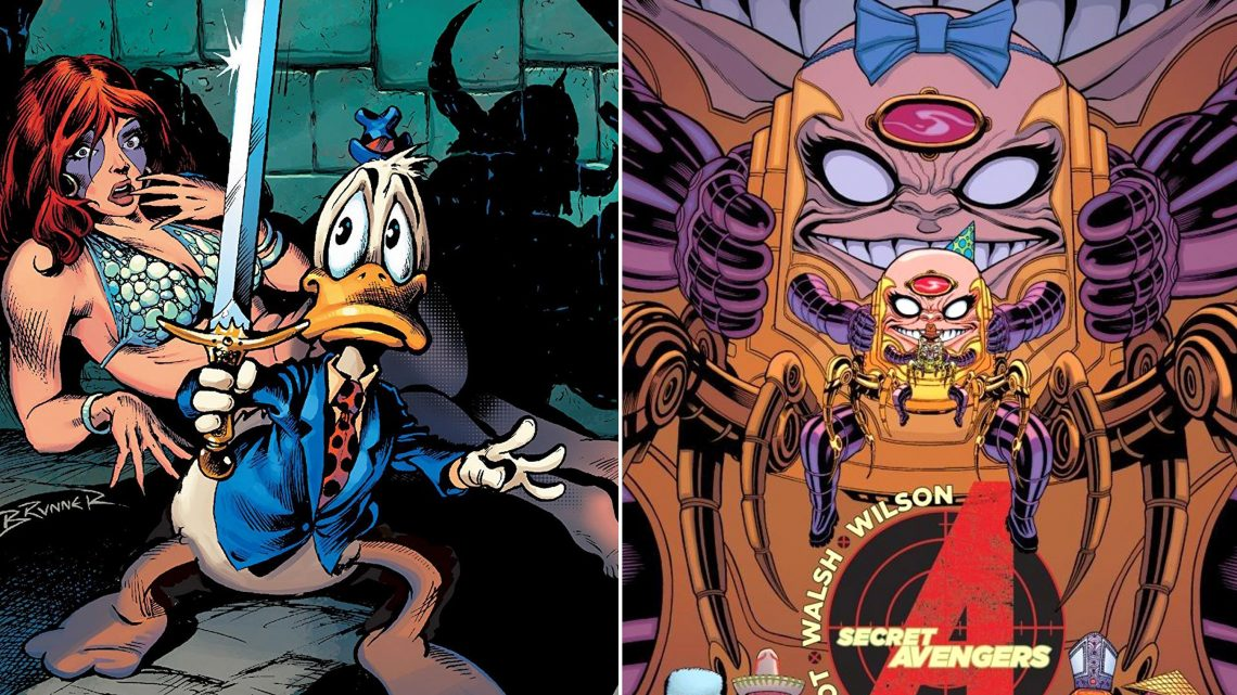 Hulu announces new Marvel shows: Howard the Duck, M.O.D.O.K., more