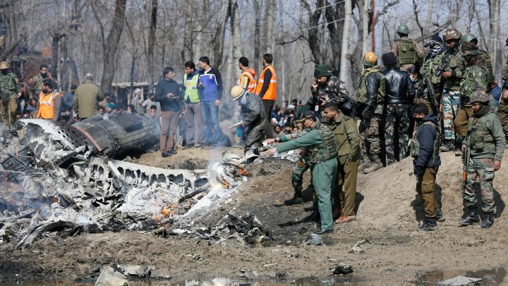 Pakistan's prime minister calls for talks with India after claim warplanes were shot down