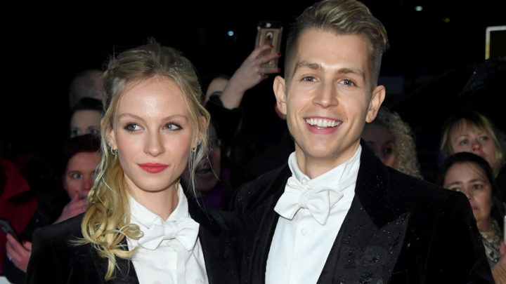 James McVey's Fiancee Kirstie Brittain Nearly Found Out About Her Engagement Before He Even Proposed!
