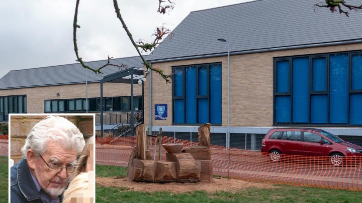 Rolf Harris 'could be sent back to PRISON' for 'waving at kids on school grounds' after jail release