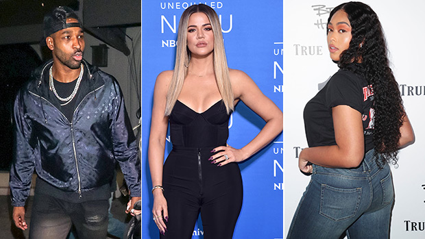 Khloe Kardashian Likes Tweet Alleging Jordyn Woods Slept With Tristan Thompson