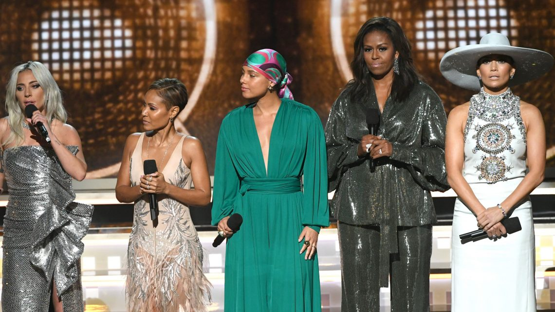 Michelle Obama Just Showed Up to the Grammys and We're So Emotional