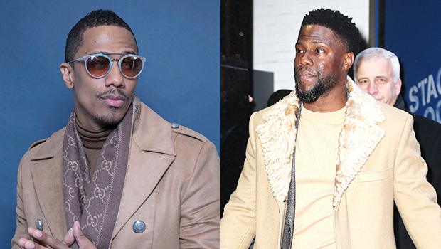 Nick Cannon Trolls Kevin Hart For Dressing Like A 'Teddy Bear': Your Body's 'Too Big For Your Head'