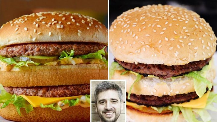 Dad's amazing copycat version McDonald's Big Mac costs just £1 using supermarket ingredients… and he says it tastes exactly the same as the real thing