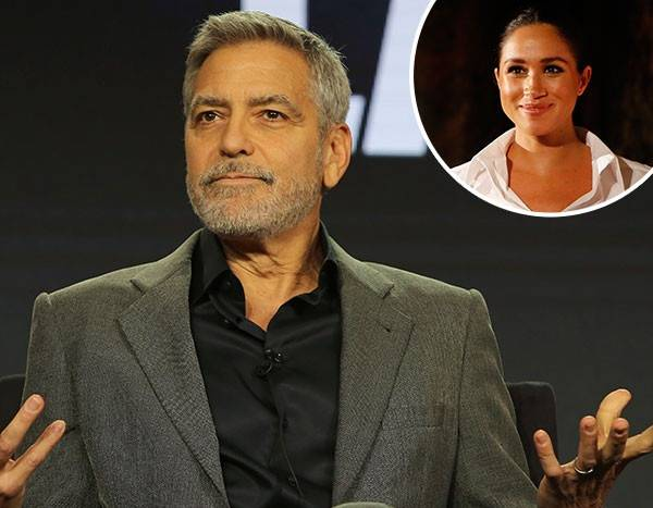 George Clooney Comes to Meghan Markle's Defense