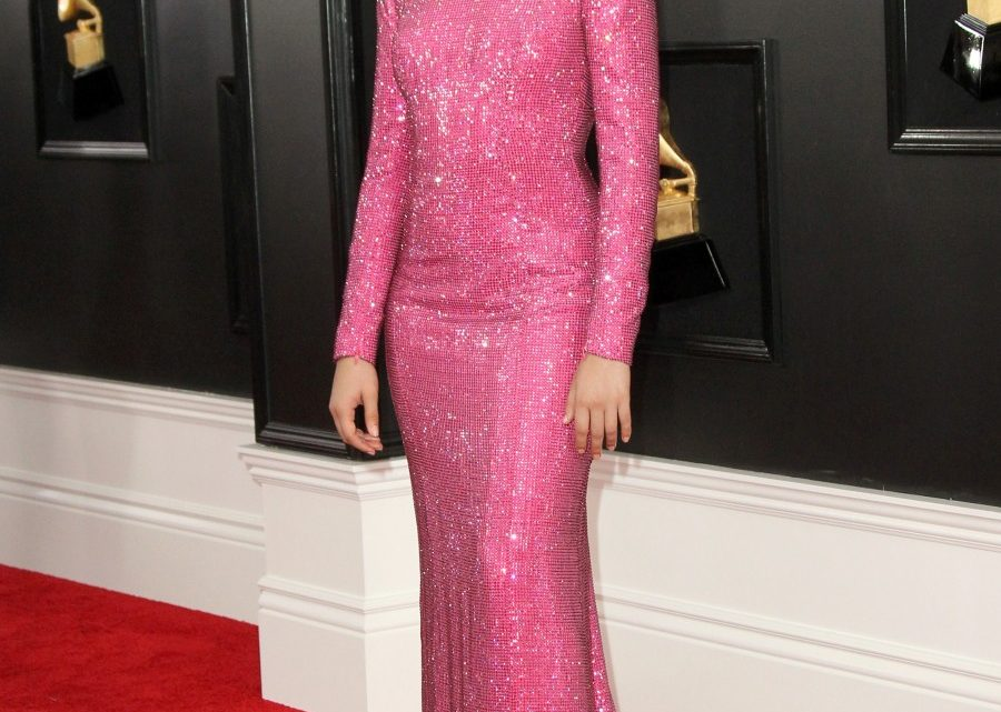 Camila Cabello's pink Armani was one of the best looks of the Grammys