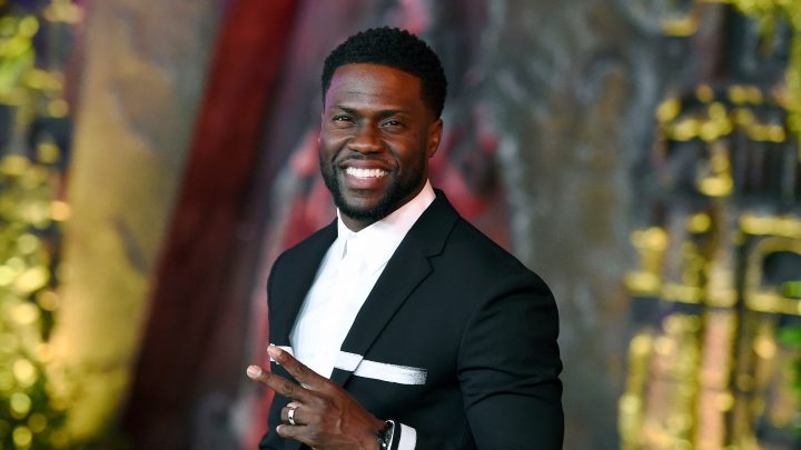 What was Kevin Hart doing Sunday night instead of hosting the 2019 Oscars?