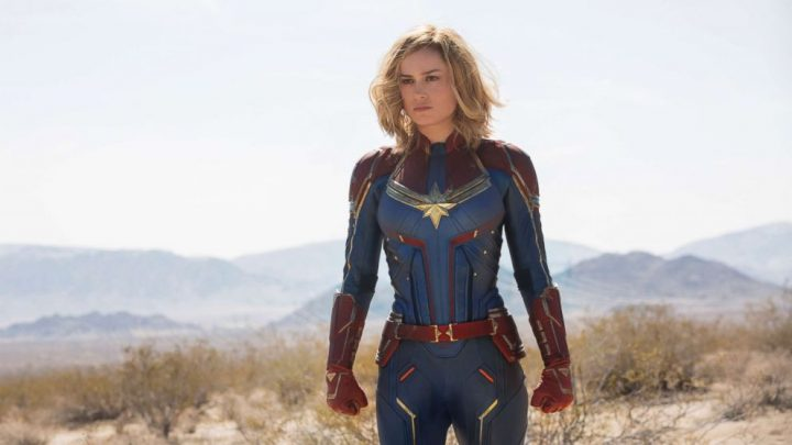 Brie Larson says doing 'Captain Marvel' is like 'my superpower'