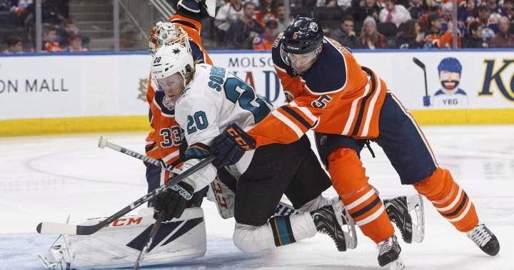 Edmonton Oilers look to turn tables against Sharks