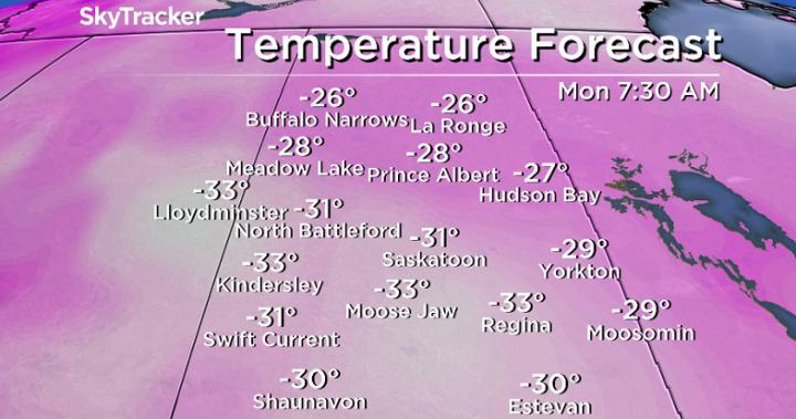 Saskatoon weather outlook: -40 wind chills return to finish February