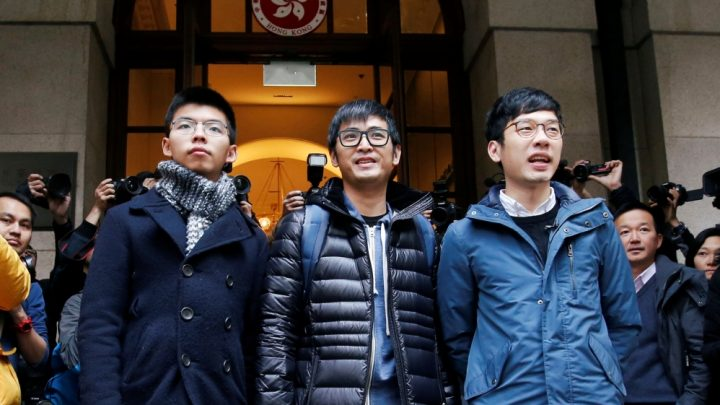 Hong Kong's top court frees 'Umbrella Movement' leaders