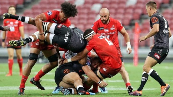 Super Rugby: Sunwolves lose 45-10 to Sharks in season-opener