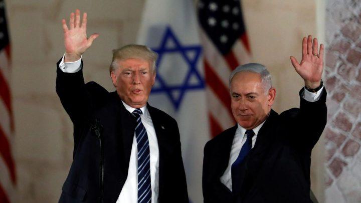 Netanyahu's Likud uses Trump photo in Israeli election billboard
