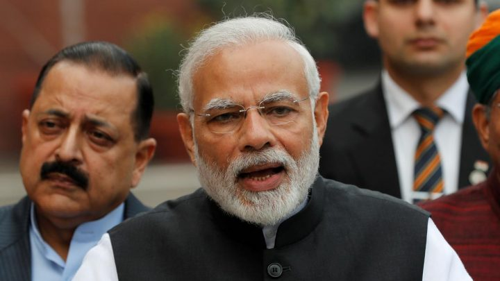 India PM Modi looks to budget on Friday to shore up political base
