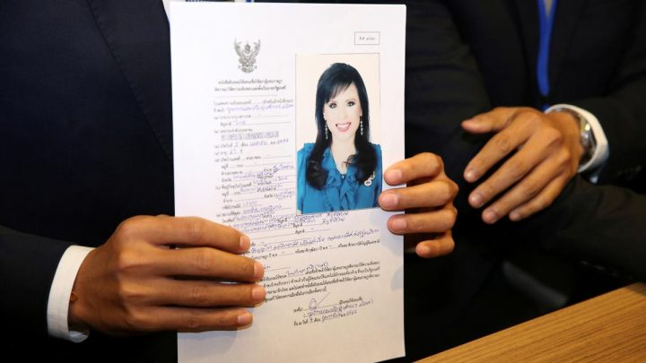 In stunning move, Thai king's sister running for PM in March polls