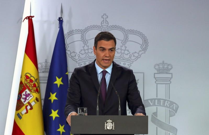 Spain's PM considers calling early national election for April 14: EFE