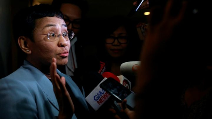 Philippine journalist at odds with Duterte arrested for libel