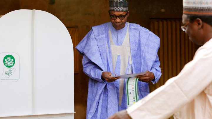 Nigeria's Buhari leads in election count as death toll mounts