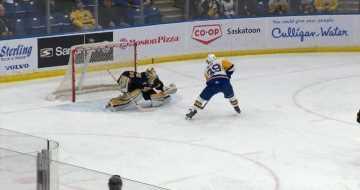 Saskatoon Blades double Brandon Wheat Kings 6-3