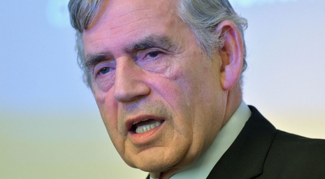 Gordon Brown: Baby banks are stark reminder of how many Brits depend on charity