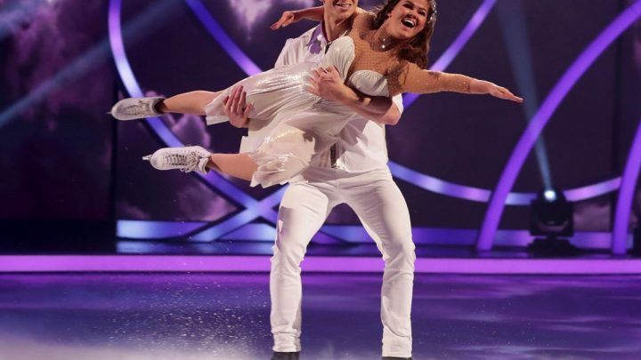 Dancing on Ice gives me a bum like J-Lo and fiancée loves it says Saara Aalto