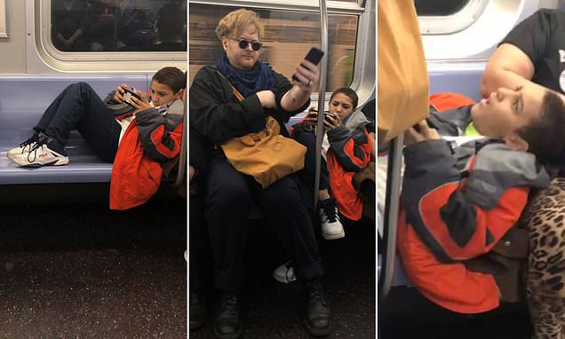 This bratty kid on the subway sure learned a lesson