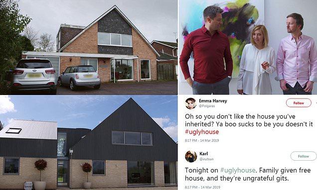 Couple branded 'ungrateful' after calling inherited home 'monstrosity'