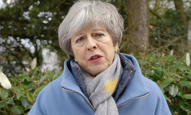 Cabinet ministers 'believe Theresa May will be gone within weeks'