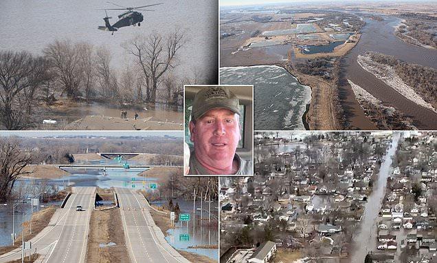 Two killed in record-levels of floods in Nebraska