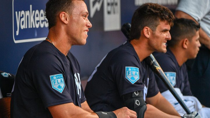 Aaron Judge's swing change couldn't be working any better