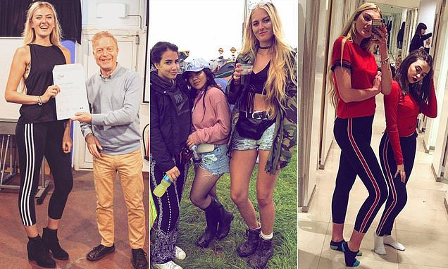 Teenager proud of 6ft 2 height and wears stilettos to make her taller
