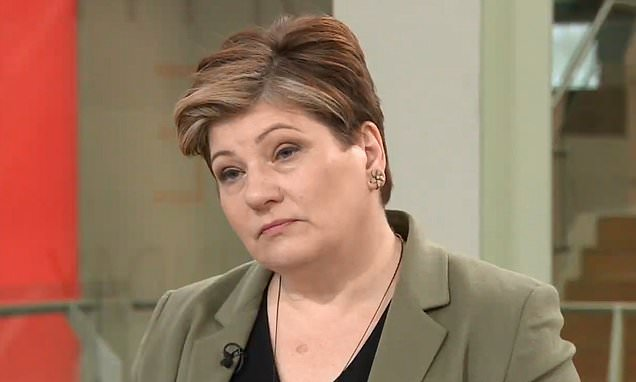 Theresa May is 'out of control', Emily Thornberry warns
