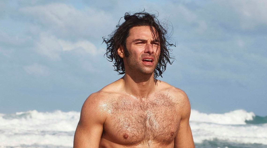 Aidan Turner reveals secret to 'Poldark bod' and it's as easy as walking the dog