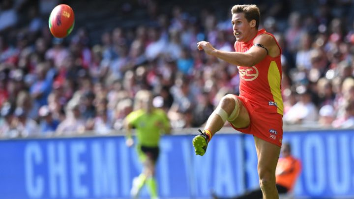 Positive AFL injury news for Suns' Swallow
