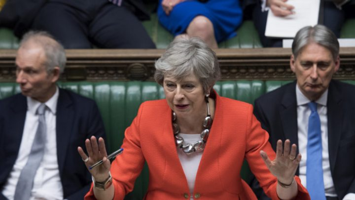 May loses vital vote: MPs reject 'improved' Brexit divorce deal