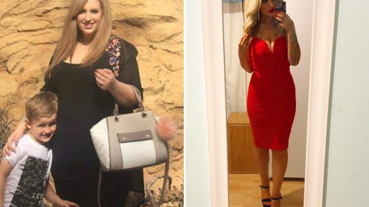 Size 20 mum's incredible SIX STONE weight loss by eating what she wants and not exercising