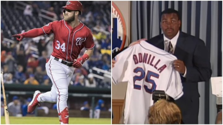 Bryce Harper's new contract still won't match length of Ichiro and Bobby Bonilla contract details