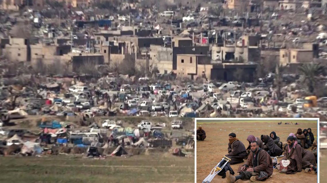 Chilling footage inside ISIS' last Syrian stronghold where die-hard fanatics are staging their bloody final stand