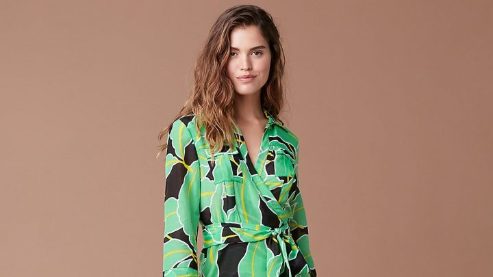 This Wrap Dress Is Everything We Love About DVF (and It's Over $100 Off!)