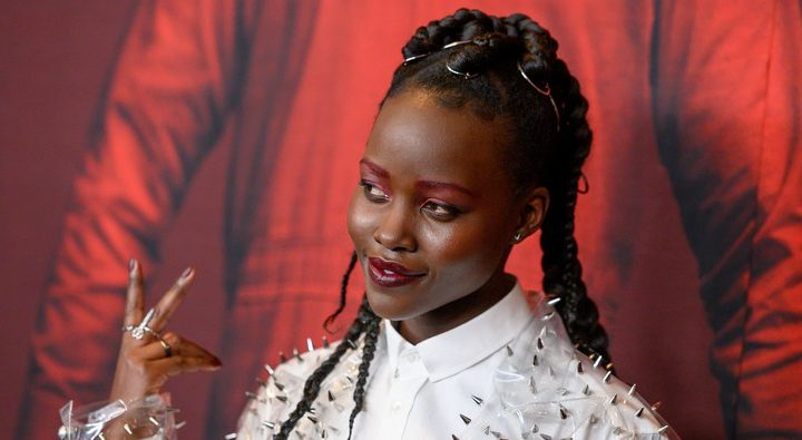 Lupita Nyong'o's Us Press Tour Looks Prove That Even the Macabre Can Be Chic