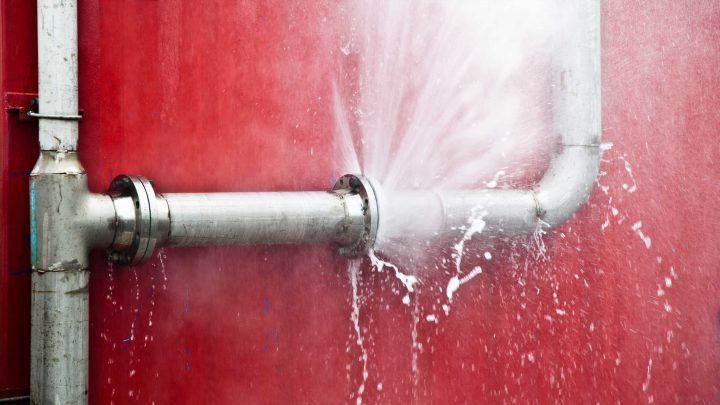 Half of households have suffered from burst or broken pipes