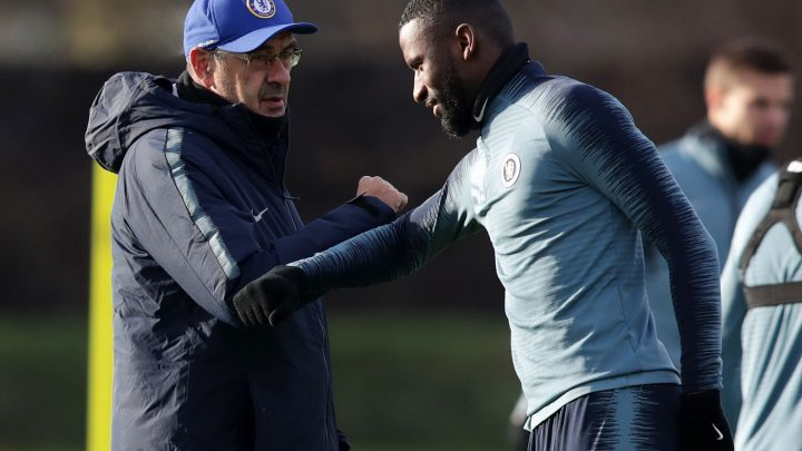 Stubborn Sarri has had to change his methods since joining Chelsea, says Rudiger
