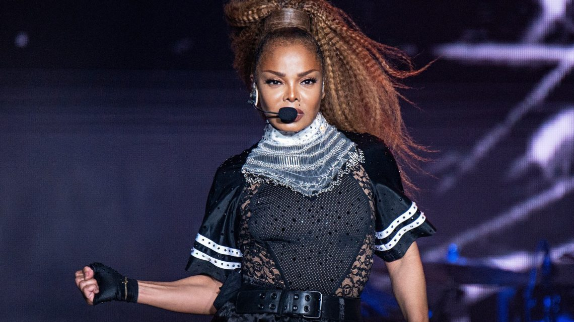 Janet Jackson caught editing Glastonbury poster to give herself top billing instead of The Killers