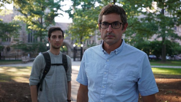 Louis Theroux meets sobbing man accused of raping drunk student who can't remember sex