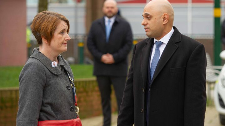 Moment furious mum screams 'what are YOU doing about it?' at Sajid Javid as she demands answers over knife crime crisis