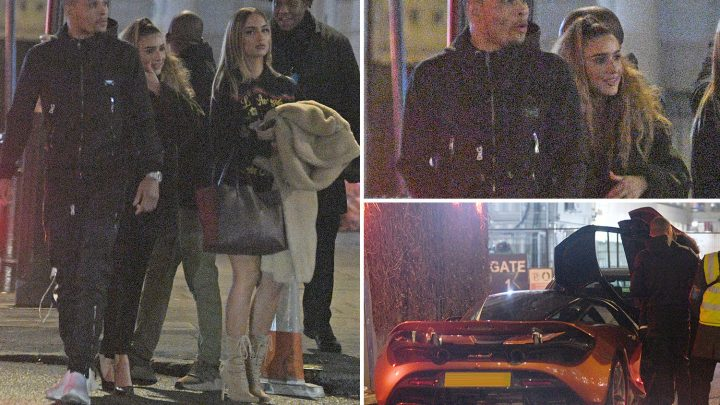 Eubank Jr leaves celebrity London nightclub with two stunning mystery women at 4.30am