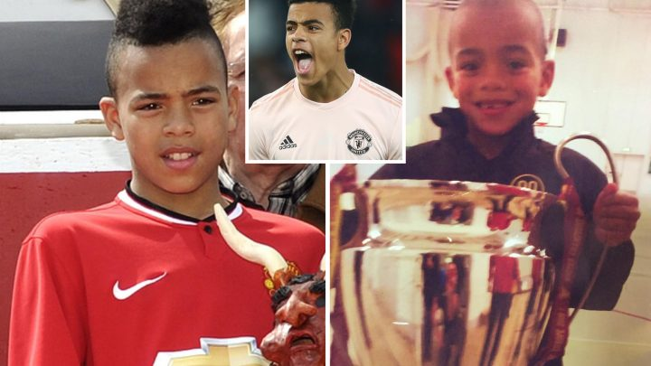 Greenwood becomes Man Utd's youngest Champions League player at 17 as historical snaps of his love for club emerge and he returns for school duty
