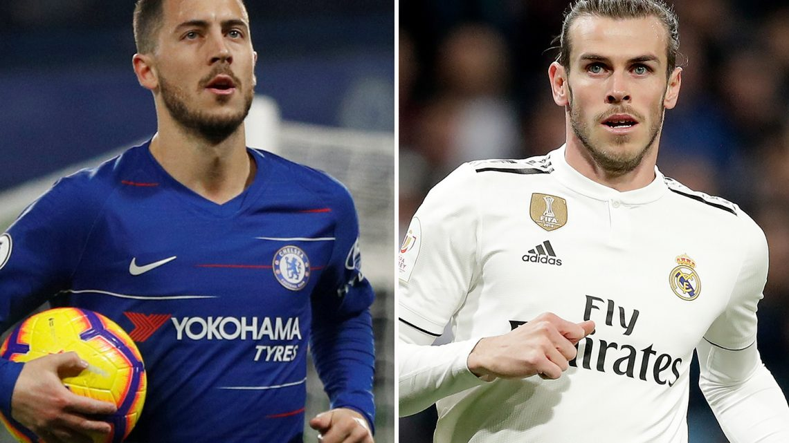 Real Madrid ready to offer Gareth Bale in swap deal for Chelsea ace Eden Hazard